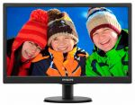 "Монитор 18.5"" Philips 193V5LSB2 (10/62) Glossy-Black TN LED 5ms 16:9 10M:1 200cd"